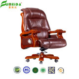 Solid Wood Foot (FY1303)の旋回装置Executive Leather Office Chair