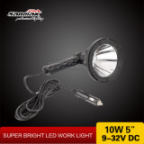 Nouveau 5 '' 10W CREE DEL Search Light pour Car