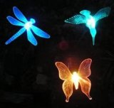 Angeschaltenes Garten-Vogel-Solarlicht (RS102)