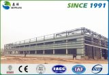 Illustrazione prefabbricata del gruppo di lavoro del magazzino della costruzione della grande struttura del metallo