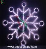 grandes DEL lumières de flocon de neige de Noël de 3*3m pour la décoration de rue