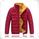 As crianças a China a mais atrasada vestem o revestimento ao ar livre morno 607 do algodão do inverno para baixo