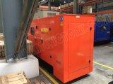 建築プロジェクトのためのLovolエンジン1006tg1aを搭載する90kVA防音のディーゼル発電機