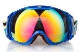 Дешевые спортивный изумлённые взгляды сноубординга Eyewear над стеклами
