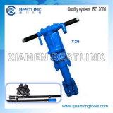 Y24/Ty24cの携帯用空気石ドリル