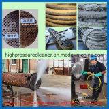 Machine de lavage industrielle à haute pression de nettoyage de pipe de condensateur de sableuse