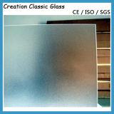 vidro ácido 6mm Tempered de 3mm 4mm 5mm para o quarto
