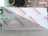 Panneau composé en aluminium enduit perforé de PVDF