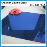 vidrio de flotador teñido 6m m azul marino de 4m m 5m m 5.5m m