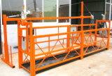 트럭에 의하여 거치되는 공중 일 건설물자 적재 강철 구조물 플래트홈