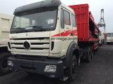 China transporta a cabeça do caminhão do trator de Beiben com o Semitrailer para África