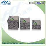 Anti-Tiemblan los paneles de pared aislados ligeros de exterior de la espuma de poliuretano