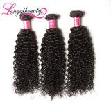 волосы малайзийца Weave 8A 100% Unprocessed дешевые курчавые