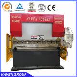 Máquina de dobra hidráulica da chapa de aço da máquina do freio da imprensa da placa de aço