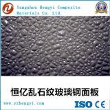 Feuille décorative de fibre de verre de diamant de couche de gel pour la construction de mur