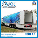 3車軸45t Refrigerated Cargo Trailer Low Price