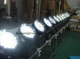 Contrôle 108PCS X de DMX éclairage principal mobile de la lumière DEL DJ de zoom de lavage de 3 W