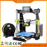 Raiscube 아크릴 급속한 시제품 2 바탕 화면 DIY Prusa I3 3D 인쇄 기계