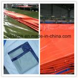 Feuille de bâche de protection de PE pour des tentes, bâche de protection de couverture de camion
