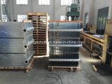 Radiateur à ailettes galvanisé de transformateur