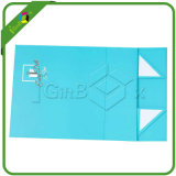 Caixa de presente de dobramento lisa do fechamento magnético de papel feito sob encomenda