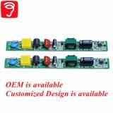 6-20W nenhum excitador Non-Isolated da lâmpada da cintilação PF0.95 com compatibilidade electrónica QS1303
