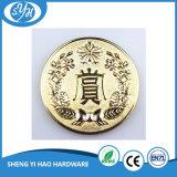 Монетка сувенира плакировкой золота 3D высокого качества неподдельная