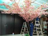 Árvore artificial de Sakura da cereja da falsificação da cor-de-rosa da boa qualidade