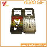 Kundenspezifischer Firmenzeichen-Flaschen-Öffner mit Metalschlüsselring (YB-LY-O-01)