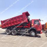 China exportó Sinotruk HOWO Euro 2 Camión Volquete