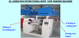 Máquina de capa fácil de la cinta de la operación BOPP de Gl-1000d