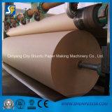 Papier d'emballage faisant la machine et la petite échelle usine de réutilisation de papier ondulé