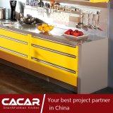 Armadio da cucina caldo e pieno di sole della lacca della vernice di essiccamento di stile di modo (CA09-05)