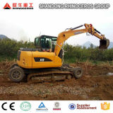 China 8 Tonne beide Rad-Gleiskette Exkavator-neuer Typ Exkavator