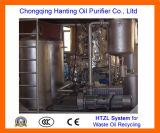 Planta de reciclaje inútil del aceite de motor de HTZL-IV (8T/day)