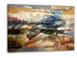 Pintura al óleo abstracta - nuevo diseño (DABS0041)