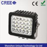 luz auxiliar del trabajo del CREE LED 4X4 de 6inch 9-32V 100W 8000lm
