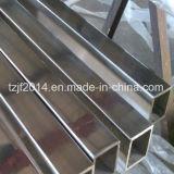 316継ぎ目が無いステンレス製の正方形の鋼鉄管