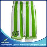 Shorts su ordinazione di calcio e di gioco del calcio di sublimazione per le squadre