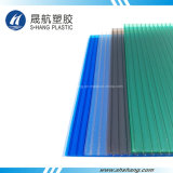 Het anti-uv Holle Blad van het Polycarbonaat Glittery met 10 Jaar van de Garantie