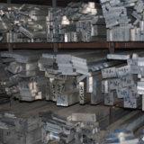 Quadratischer Aluminiumstab, flacher Aluminiumstab