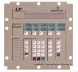 El panel modificado para requisitos particulares del interruptor de membrana para la lavadora