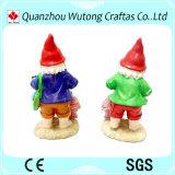 Figurines di Gnomes della resina di stile dell'oceano dei regali dei ricordi della resina per la decorazione