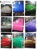 (PPGI, PPGL), l'acier enduit d'une première couche de peinture principal, colorent la bobine en acier galvanisée enduite