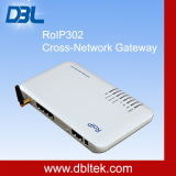 RoIP-302m十字Network Roip GatewayまたはIntercom System (IPの)/Portable Radio上のRadio