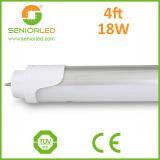 Lámparas de aluminio de la PC LED del alto tubo del lumen T8