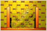 Máquina de gravura de vidro 2519 do CNC