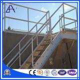 Cerca de seguridad de la escalera del edificio de la aleación de aluminio