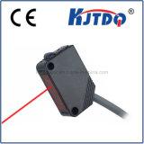 Tipo cuadrado sensor infrarrojo óptico de fibra de Q31 con la distancia de 300m m