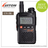 2W Mini Walkie Talkie Bf UV-3r + com bateria 1500mAh